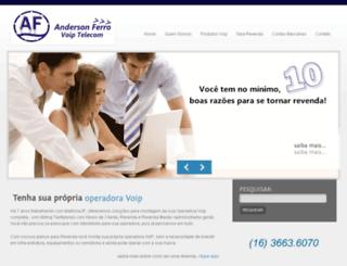 voip.andersonferro.com.br screenshot