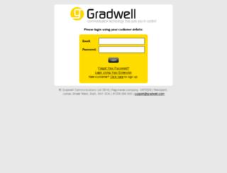 voip.gradwell.com screenshot