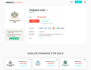 voipact.com screenshot