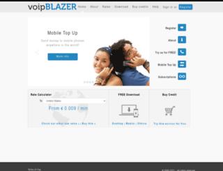 voipblazer.com screenshot