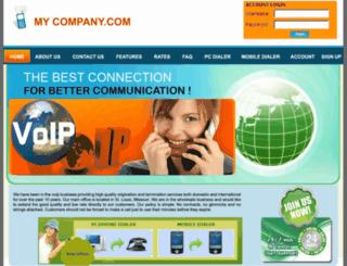voipcallnet.com screenshot
