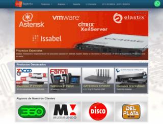 voipexperts.com.ar screenshot