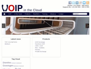 voipinthecloud.eu screenshot