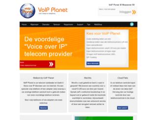 voipplanet.nl screenshot