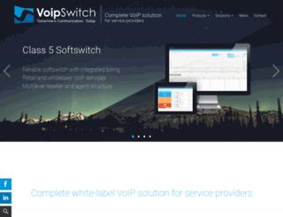 voipswitch.com screenshot