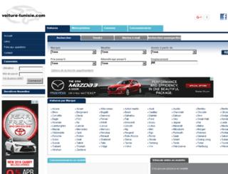 voiture-tunisie.com screenshot
