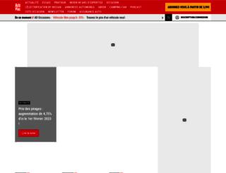 voiture.autoplus.fr screenshot