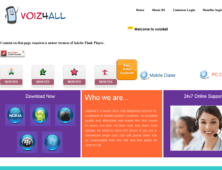 voiz4all.com screenshot