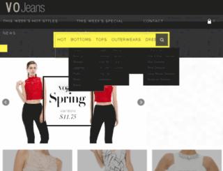 vojeans.com screenshot