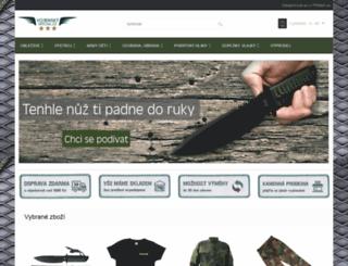 vojenskyspecial.cz screenshot