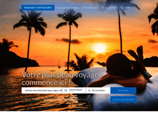 vol.havas-voyages.fr screenshot