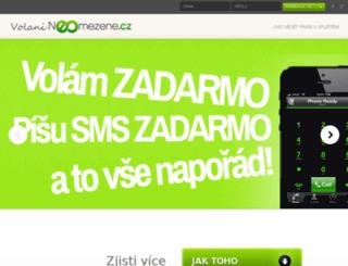 volanineomezene.cz screenshot
