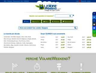 volareweekend.com screenshot