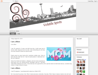 volatilespirits.com screenshot