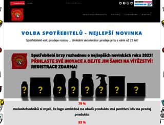 volba-spotrebitelu.cz screenshot