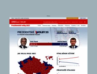 volby.idnes.cz screenshot