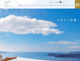 volcano-view.com screenshot