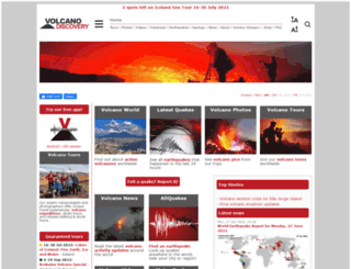 volcanodiscovery.com screenshot