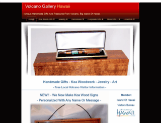 volcanogallery.com screenshot