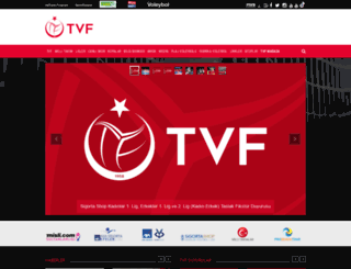 voleybol.org.tr screenshot