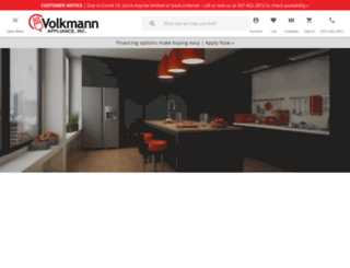 volkmannappliance.com screenshot