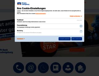 volksbank-ludwigsburg.de screenshot