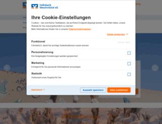 volksbank-weschnitztal.de screenshot