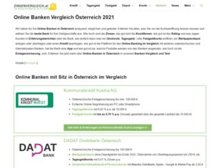 volksbankkufstein.at screenshot