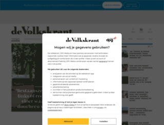 volkskrant.nl screenshot