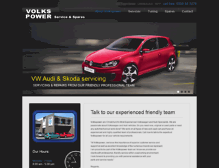 volkspower.co.nz screenshot
