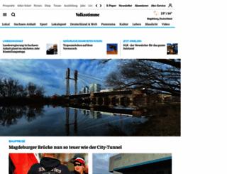 volksstimme.de screenshot