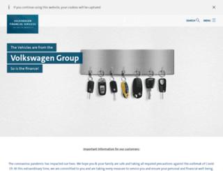 volkswagen-finance.co.in screenshot