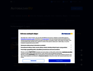 volkswagen-lupo.autobazar.eu screenshot