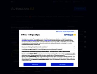 volkswagen-passat.autobazar.eu screenshot