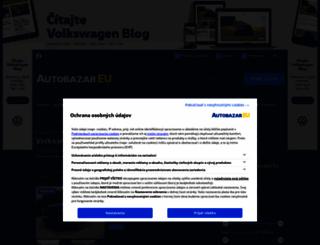 volkswagen-tiguan.autobazar.eu screenshot