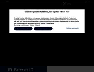 volkswagen-utilitaires.fr screenshot