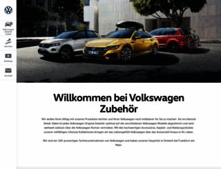 volkswagen-zubehoer.de screenshot