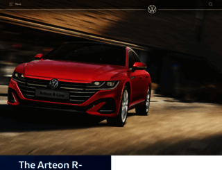 volkswagen.co.kr screenshot