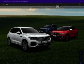 volkswagen.co.nz screenshot