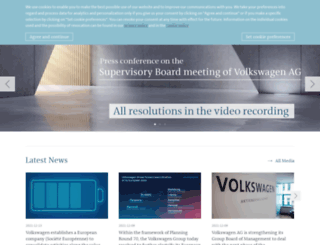 volkswagen.dz screenshot