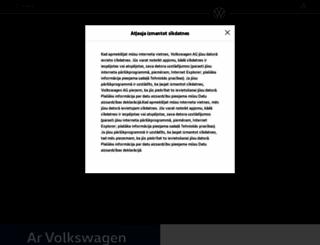 volkswagenbaltic.eu screenshot