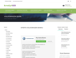 volkswagenbankdirect.kredytgo.pl screenshot