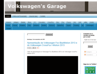 volkswagensgarage.blogspot.com screenshot