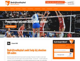 volleybalbarneveld.nl screenshot