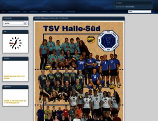 volleyballforum-halle.de screenshot