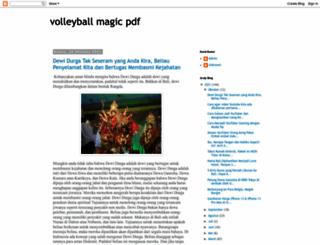 volleyballmagicpdf.blogspot.com screenshot