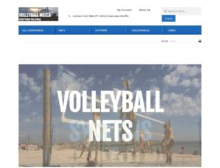 volleyballmecca.com screenshot