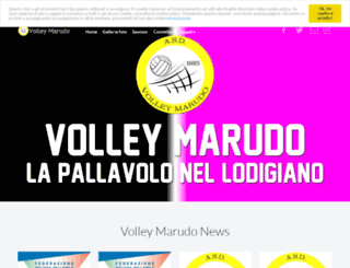 volleymarudo.it screenshot