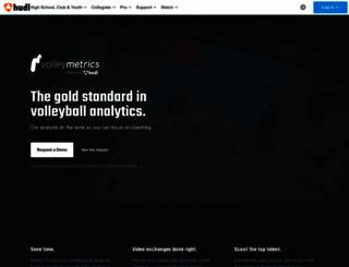 volleymetrics.com screenshot