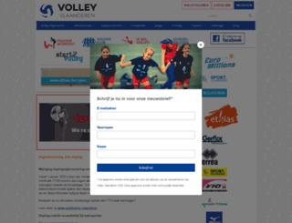 volleyvvb.be screenshot
